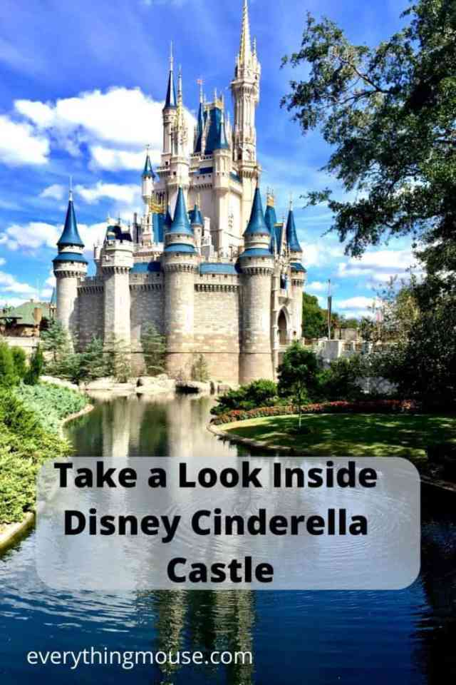 How to See Inside Disney Cinderella Castle