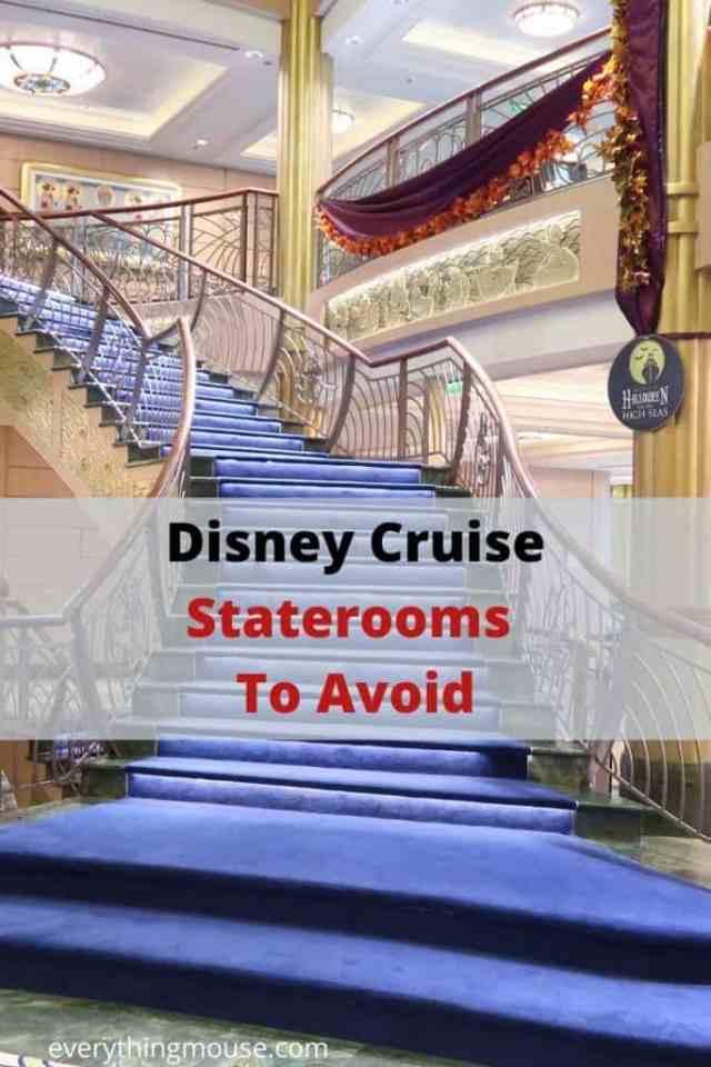 Disney Cruise Staterooms To Avoid