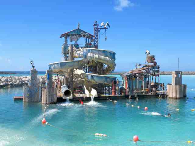 Castaway Cay Water Slides