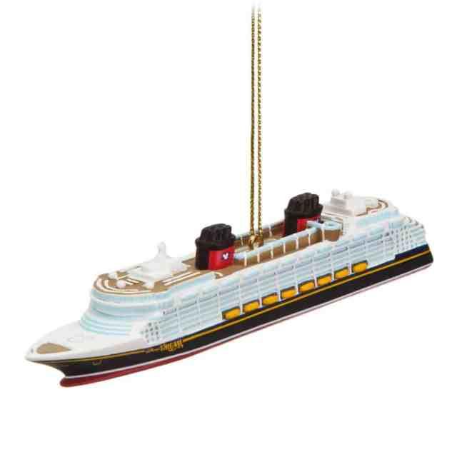 disney cruise christmas ornament