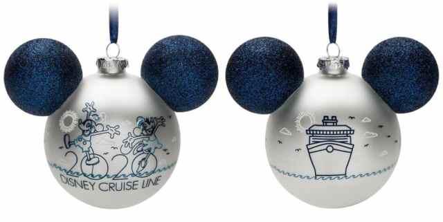 christmas ornament disney cruise line
