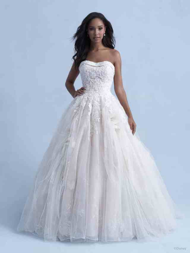 disney wedding dress belle