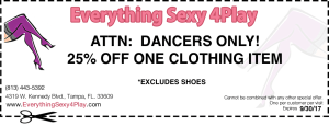 adult store coupon september 3