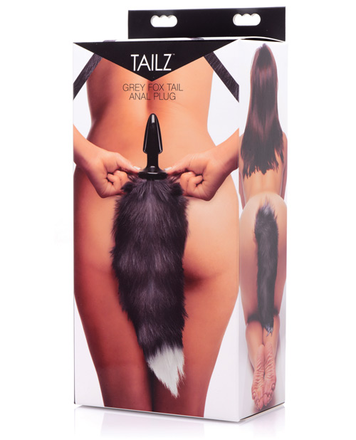 Tailz Grey Fox Tail