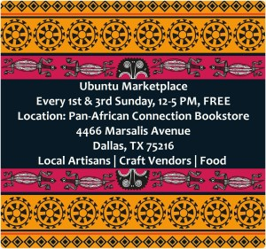 Pan-African Connection, Ubuntu Marketplace, Dallas, Support Black Business, Buy Black