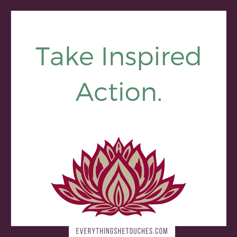 Take Inspired Action by Dominique D. Wilson