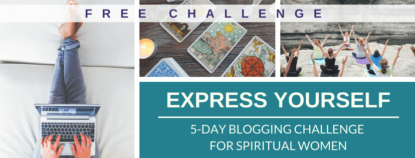 FREE Express Yourself 5-Day Blogging Challenge | Dominique D Wilson