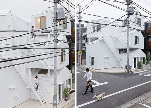 From Sou Fujimoto S Website He Said That It Seems You Have Your Own House In The Foot And Summit Of A Mountain Respectively