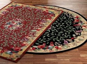 French Country Kitchen Rugs Roselawnlutheran Designing With Style