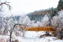 Bridge in Spearfish Canyon