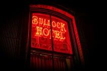 Bullock Hotel Neon Sign