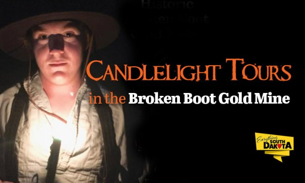 Candlelight Tours in the Broken Boot Gold Mine