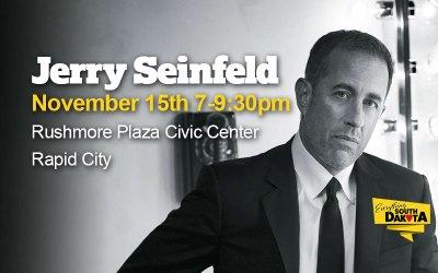 Jerry Seinfeld – Rushmore Plaza Civic Center, Rapid City
