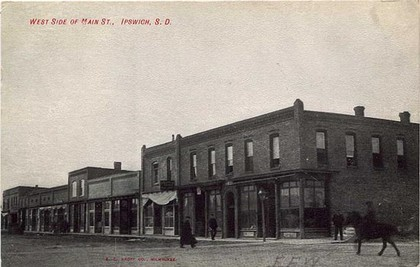 Historical west side of Main Street
