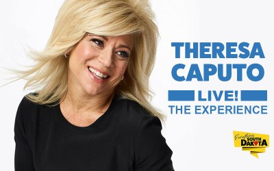 Theresa Caputo, LIVE! The Experience at the Rushmore Plaza Civic Center