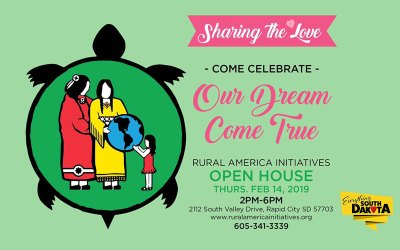 Come Celebrate Our Dream Come True – Rural American Initiatives Open House