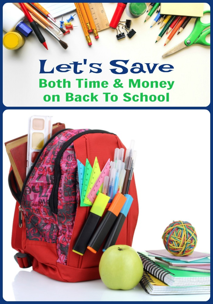 Saving Money Back To School