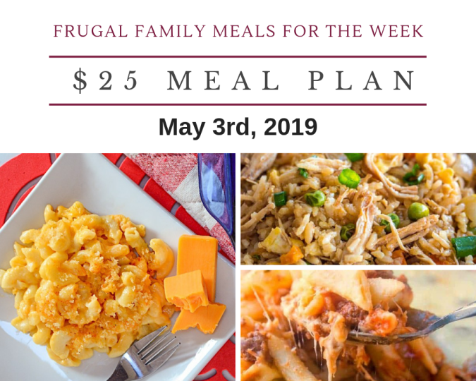 frugal meal plan may 3