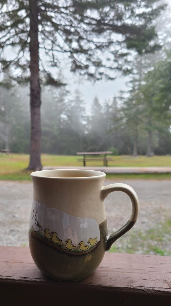 Fundy Cabins Morning Coffee