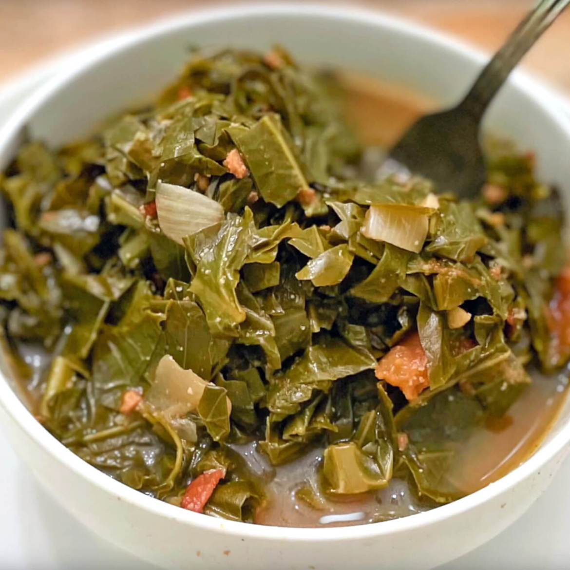 collard greens are one of the 21 Best Vegan Christmas Dinner Recipes