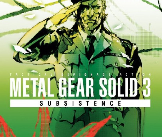 Before Hideo Kojima Ruined The Lives Of Millions Of Mgs Fans With Movie Game Somewhat Iv The Prequel To The Past Metal Gear Solid Games Mgs3 Followed The