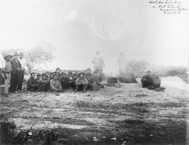 Peel Island History