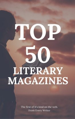 Top 50 Literary Magazines  Every Writer   Every Writer Top 50 Literary Magazines