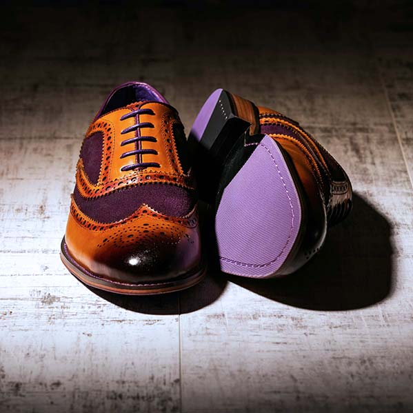 Wellesley Suede Purple 3