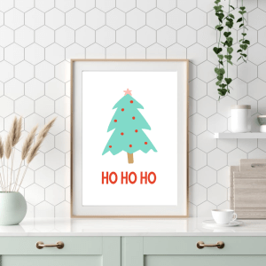 Christmas Tree Printable wall art