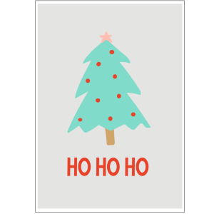 Christmas Tree wall art printables for room decor