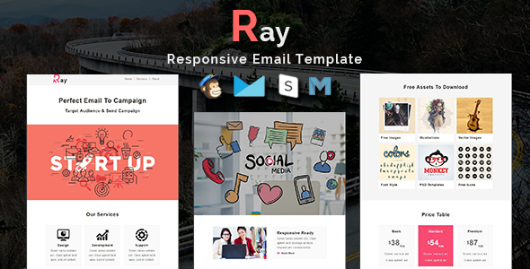 Xtreme - Multipurpose Responsive Email Template - 4