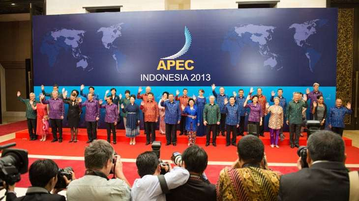 APEC Summit to be Held November 2013 in Bali