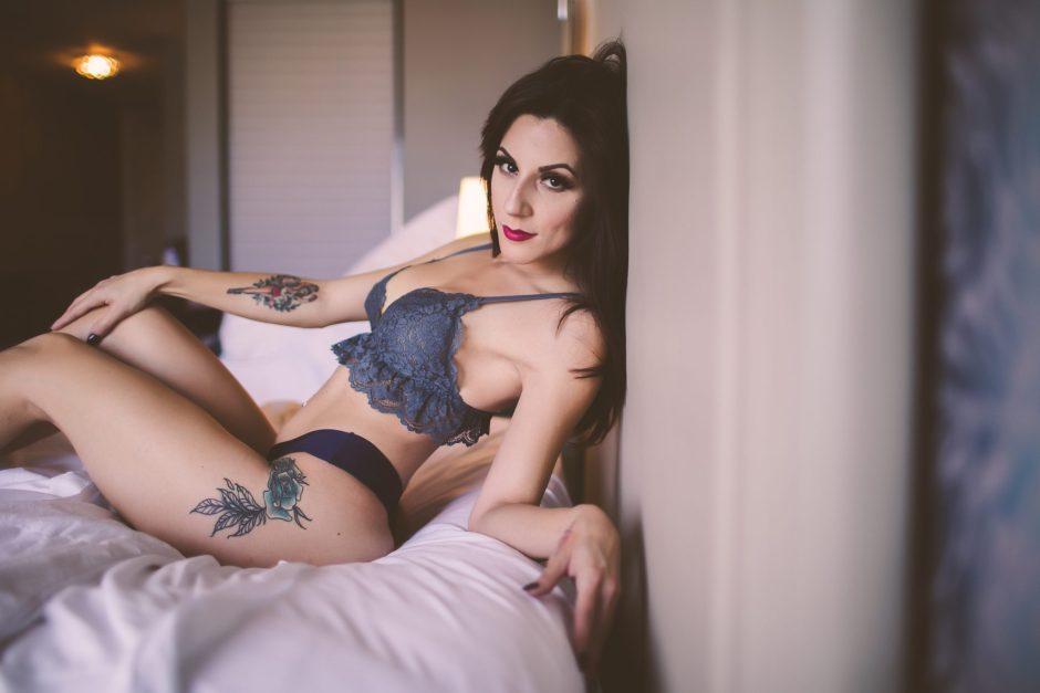 Posing for fun and flirty photos