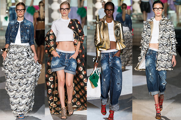 DSQUARED2, spring 2015 Ready-to-Wear