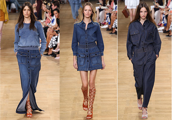 Chloé, spring 2015 Ready-to-Wear