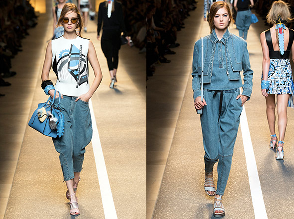 Fendi, spring 2015 Ready-to-Wear