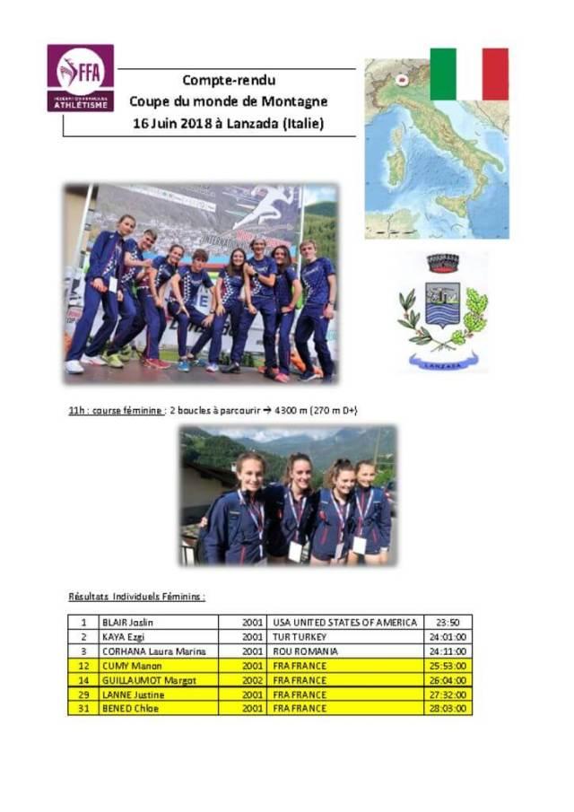 thumbnail of Bilan de la Coupe du Monde de Montagne 2018