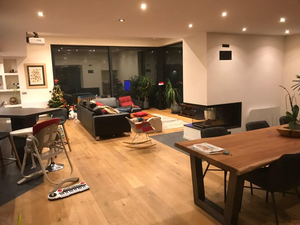 intérieure maison ossature bois