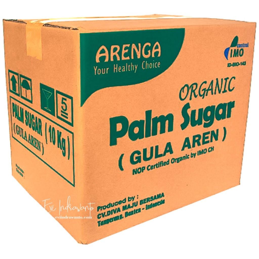 Palm Sugar Organik Kemasan 10 Kilo