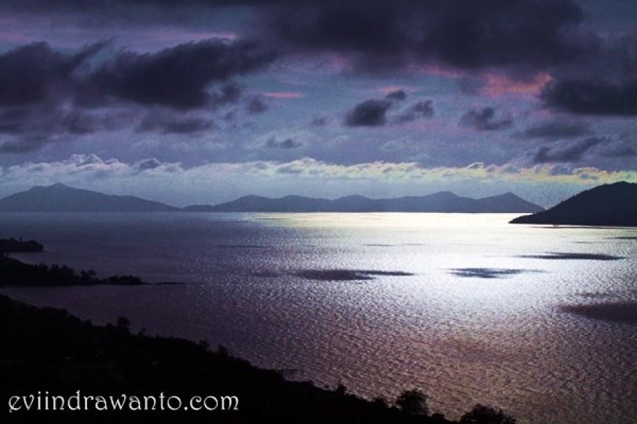 Teluk Mak Jantu ketika senja
