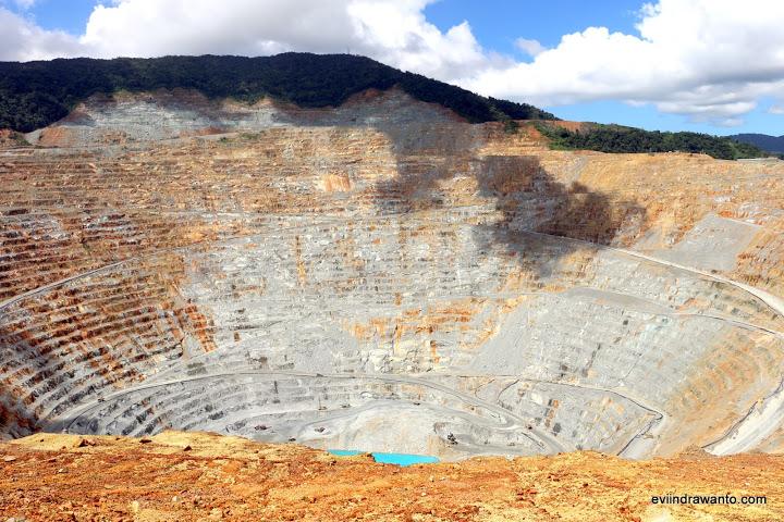 Wisata edukasi Open Pit Mining Batu Hijau