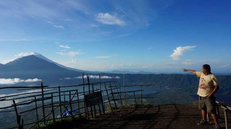 Mas Danan di Gunung Batur - Bali