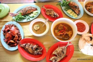 seafood pantai benete