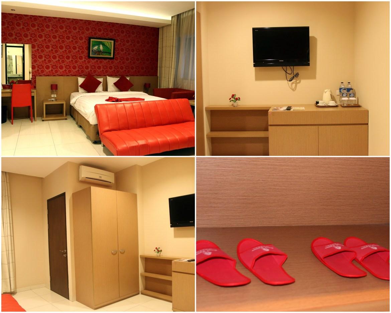 suite room hotel keluarga di Bandung sweet karina hotel