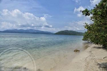 Pantai Klara - Salah satu yang bisa disinggahi
