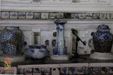 guci porselen di makam sunan gunung jati