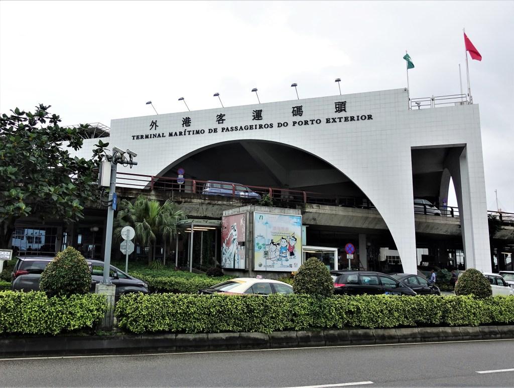 Tiba di Macau langsung berbau Portugis