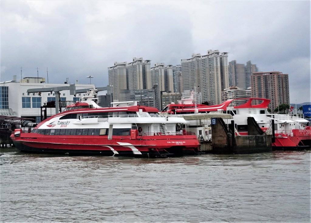 Turbojet Transportasi Hong Kong - Macau