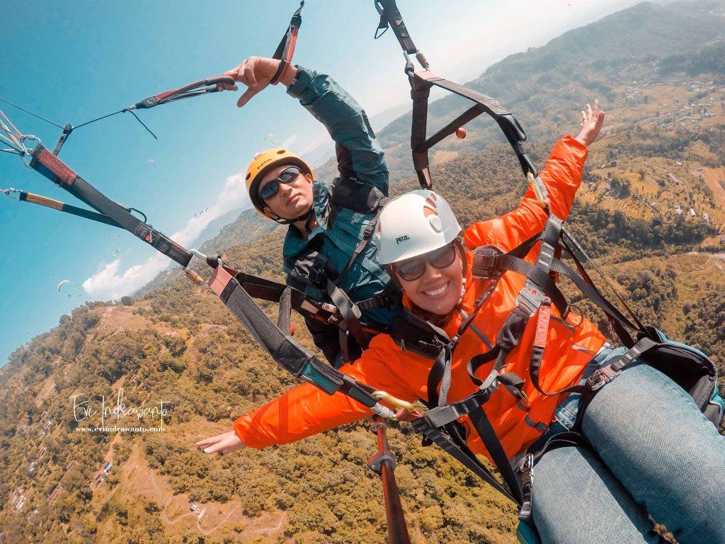 Kembangkan sayapmu - Tandem Paragliding Pokhara Nepal