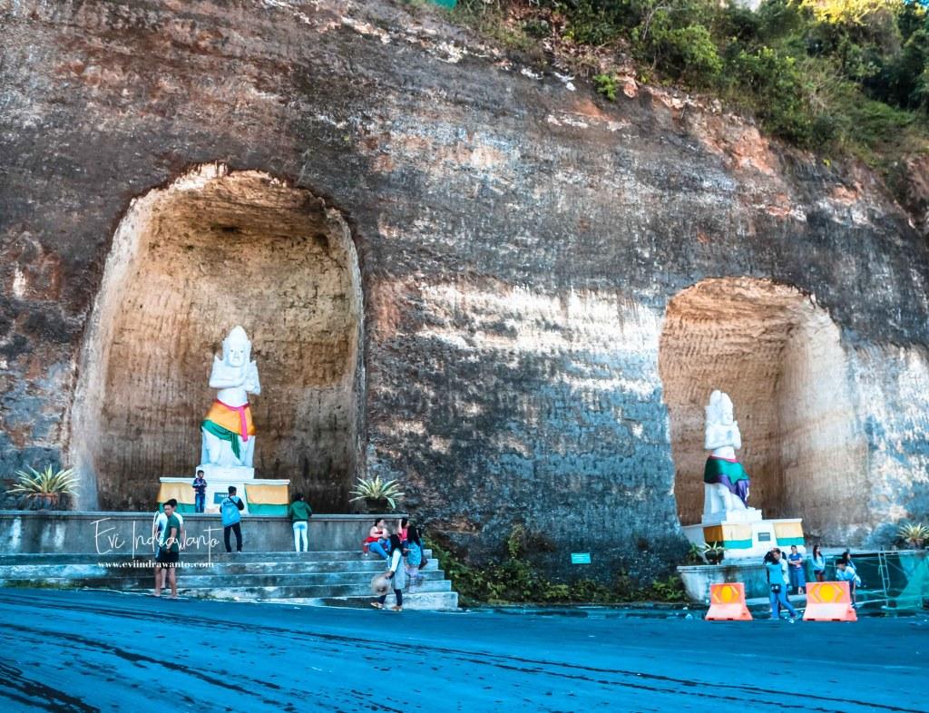 Patung Satria Pandawa Lima